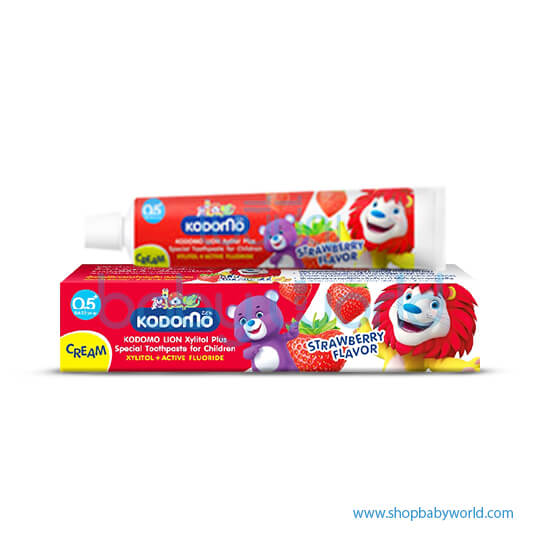 KDM Toothpaste Stawberry 80gmx36(1)
