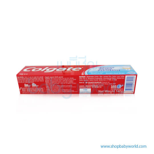Colgate Toothpaste Double Cool Strip 140g(12)