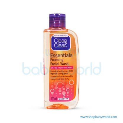 Clean & Clear Foaming Facial Wash 100ml (24)(24)
