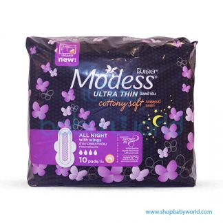 Modess Ultrathin All Night W10s (12)(12)