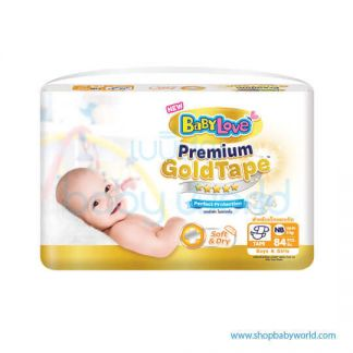 BabyLove Gold Tape NB84(3)