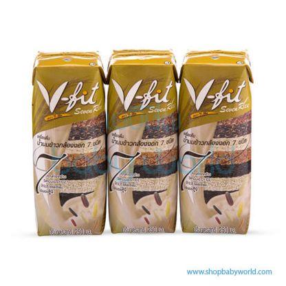 UHT SEVEN GERMINJATED BROWN RICE MILK DRINK(250 mlX12)(12)