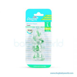 "Angel Silicon Nip 3 ""L""15115(12)"