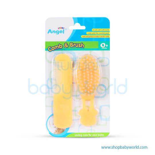 Angel Comb & Brush 15304(12)