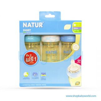 Nature 3-pack 8oz PES Smart Biomimic WN Bottle (80168)(6)