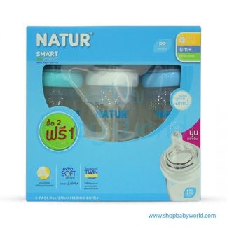 Natur Smaryt Boiomimic Wide-Neck 90z(2+1) 80170(6)
