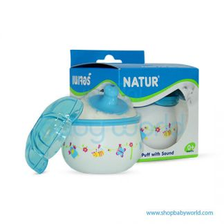 Natur Powder Puff with Sound 85302(1)