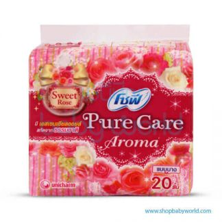 Sofy Pantyliner Slim Pure Care Scented Sweet Rose 20+4pcs(24)