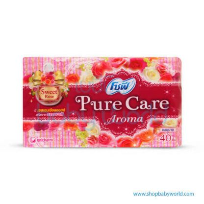 Sofy Pantyliner Slim Pure Care Scented Sweet Rose 40+8pcs(24)