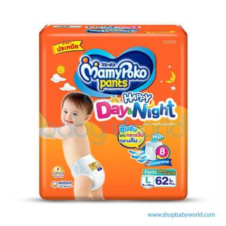 Mamypoko Happy Pants Day&Night L 62pcs(4)