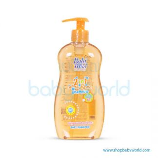 Babi Mild Shampoo MOISTURIZER (ORANGE) 400ML(12)