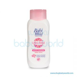 Babi Mild Lotion WHITE SAKURA 180ML(12)