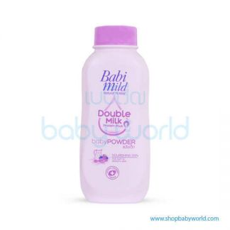 Babi Mild Powder DOUBLE MILK (VIOLET) 180G(24)