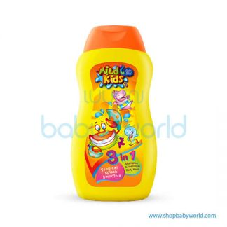 Babi Mild Kid 3IN1 TROPICAL SPLASH 200ML(12)