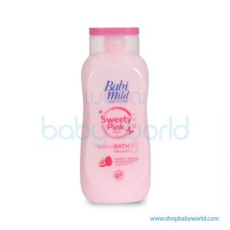 Babi Mild Bath SWEETY PINK 180ML(24)