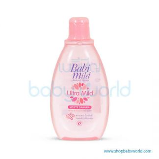 Babi Mild Bath WHITE SAKURA 200ML(24)