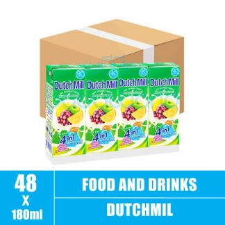 Dutchmill UHT 180ml Mixed Fruit(12)