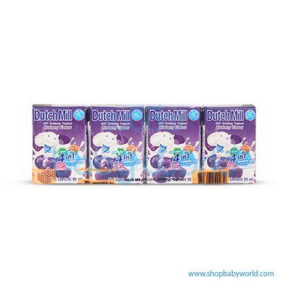 Dutchmill UHT 90ml Blue Berry(12)