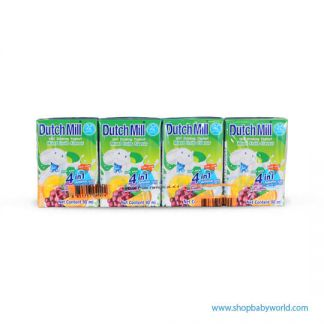 Dutchmill UHT 90ml Mixed Fruit(12)