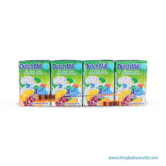 Dutchmill UHT 90ml Mixed Fruit(12)
