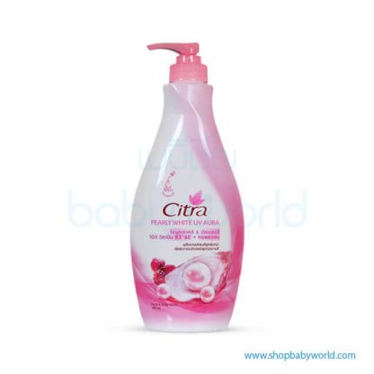 Citra Pearly White UV 400ml Pink(12)