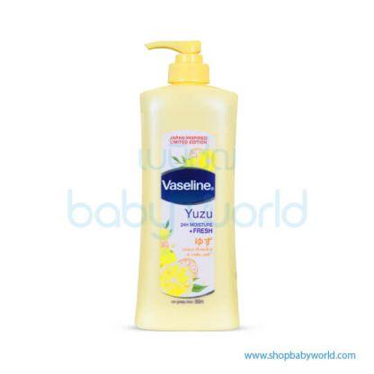 Vaseline Yuzu Moist+Fresh 350ml(12)