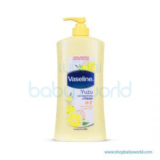 Vaseline Yuzu Moist+Fresh 550ml(12)
