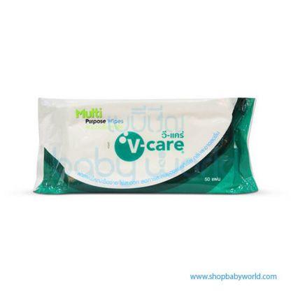 V Care Multi Purpose Wipe 50s(12)