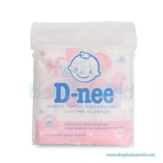D-nee Cotton Buds (Mini Head Pouch)(72)