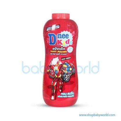 D-nee Kids Talcum Happy Powder Dark Red 400g Drak Red Twin pack (24)