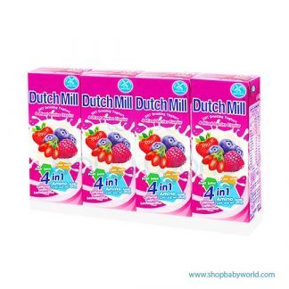 Dutchmill UHT 180ml Mixed Berry(12)