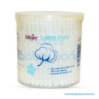TollyJoy Normal Cotton Bud (200 sticks/ Canister) Snap fit cover(24)