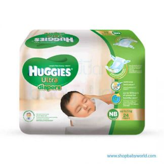 Huggies DIAPER ULTRA ECO NB-24(24)