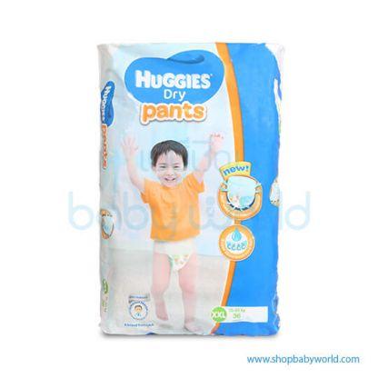Huggies DRY PANTS SUPER JUMBO XXL-36(3)