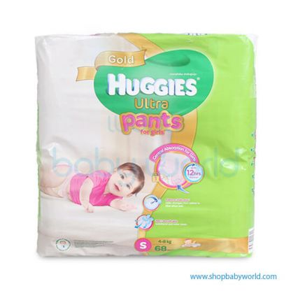 Huggies ULTRA PANTS GIRL SUPER JUMBO S-68(3 )