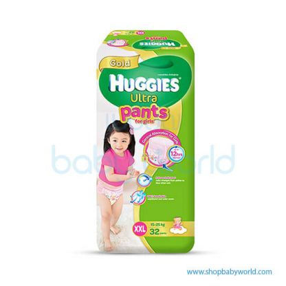 Huggies ULTRA PANTS GIRL SUPER JUMBO XXL-32(3 )