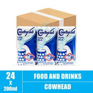 Cowhead Pure milk 4x3s 200ml(8)