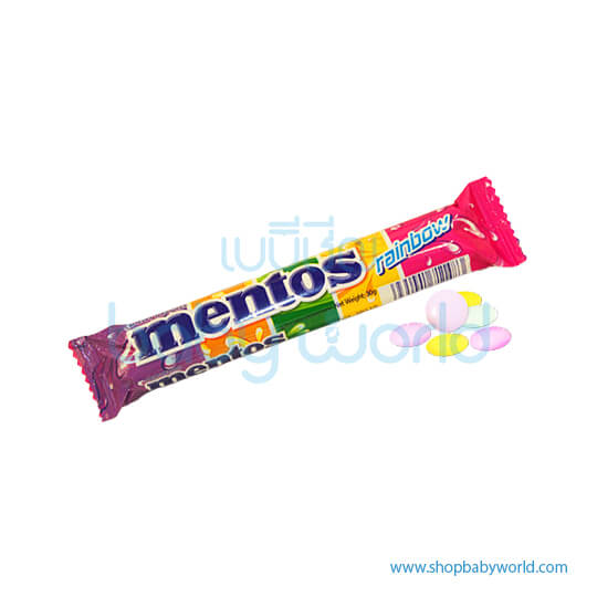 Mentos Rainbow Roll 11P(24)