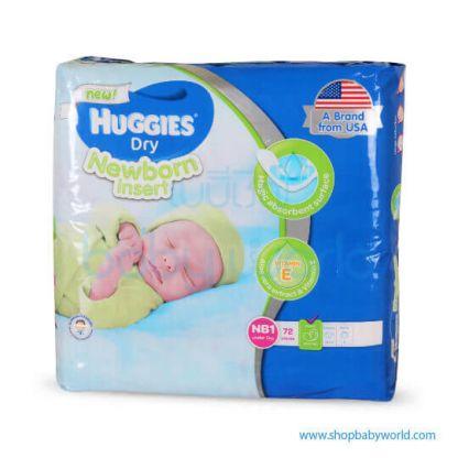Huggies DRY PAD NB1-72(6)