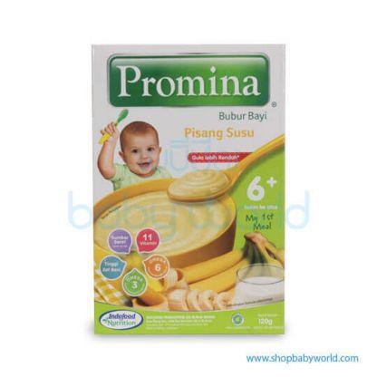 Promina Baby Cereal Banana Milk 6month x120g(24)