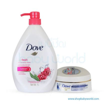 Dove Go Fresh Review RL BTL 1000ml(12)