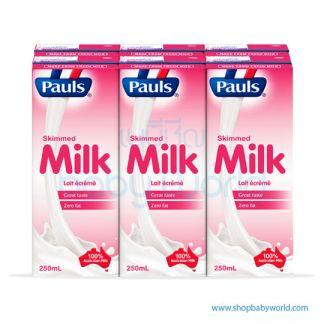 Pauls Skimmed milk UHT 250ml(4)