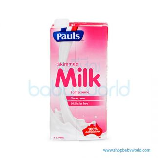 Pauls Skimmed milk UHT 1L(24)