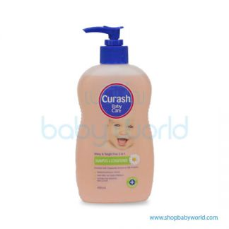 Curash Shampoo & Conditioner 400ml(24)