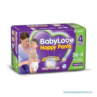 Baby Love Nappy Pantz Size 38's (2)