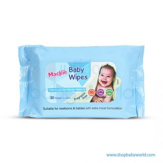 Mackie Baby Wipes 30s(28)