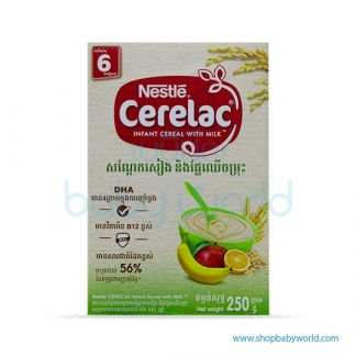 Nestle Cerelac BL Soya Mix Fruits 250G(24)