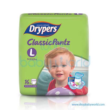 Drypers ClassicPants L-16(8)