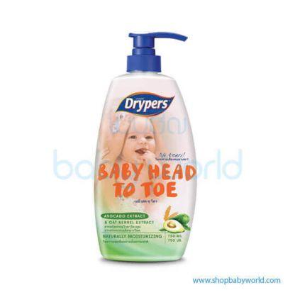 Drypers Head To Toe Avocado Extract 750ml