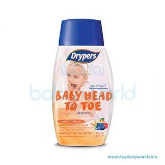 Drypers Head To Toe Fruit Complex 220ml(12)
